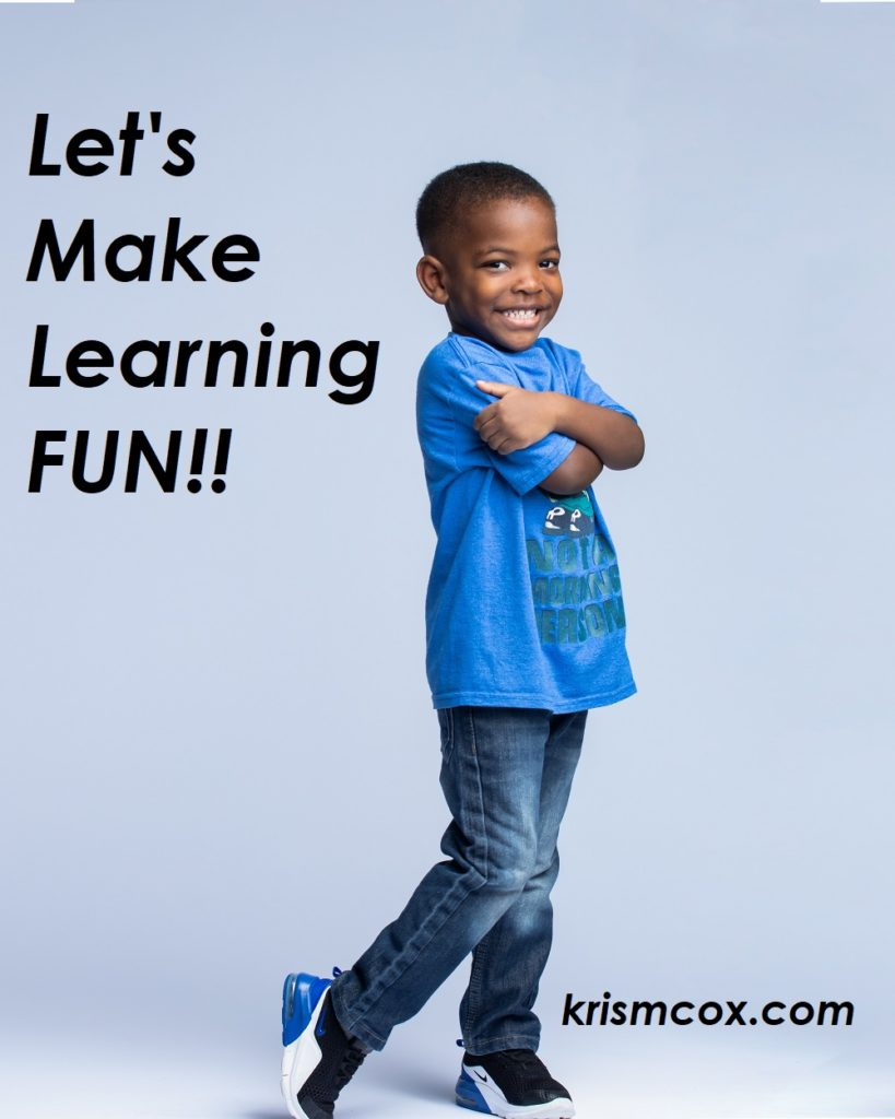 Let's Make Learning Fun!